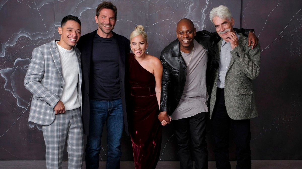 'A Star is Born' cast at TIFF
