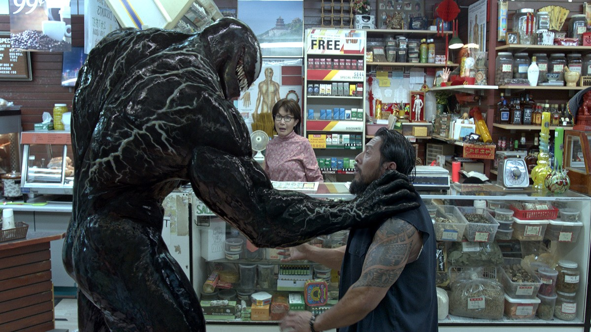 A scene from 'Venom.' (Sony Pictures via AP)