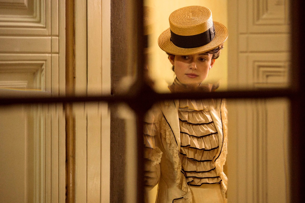 Keira Knightley in a scene from 'Colette.'