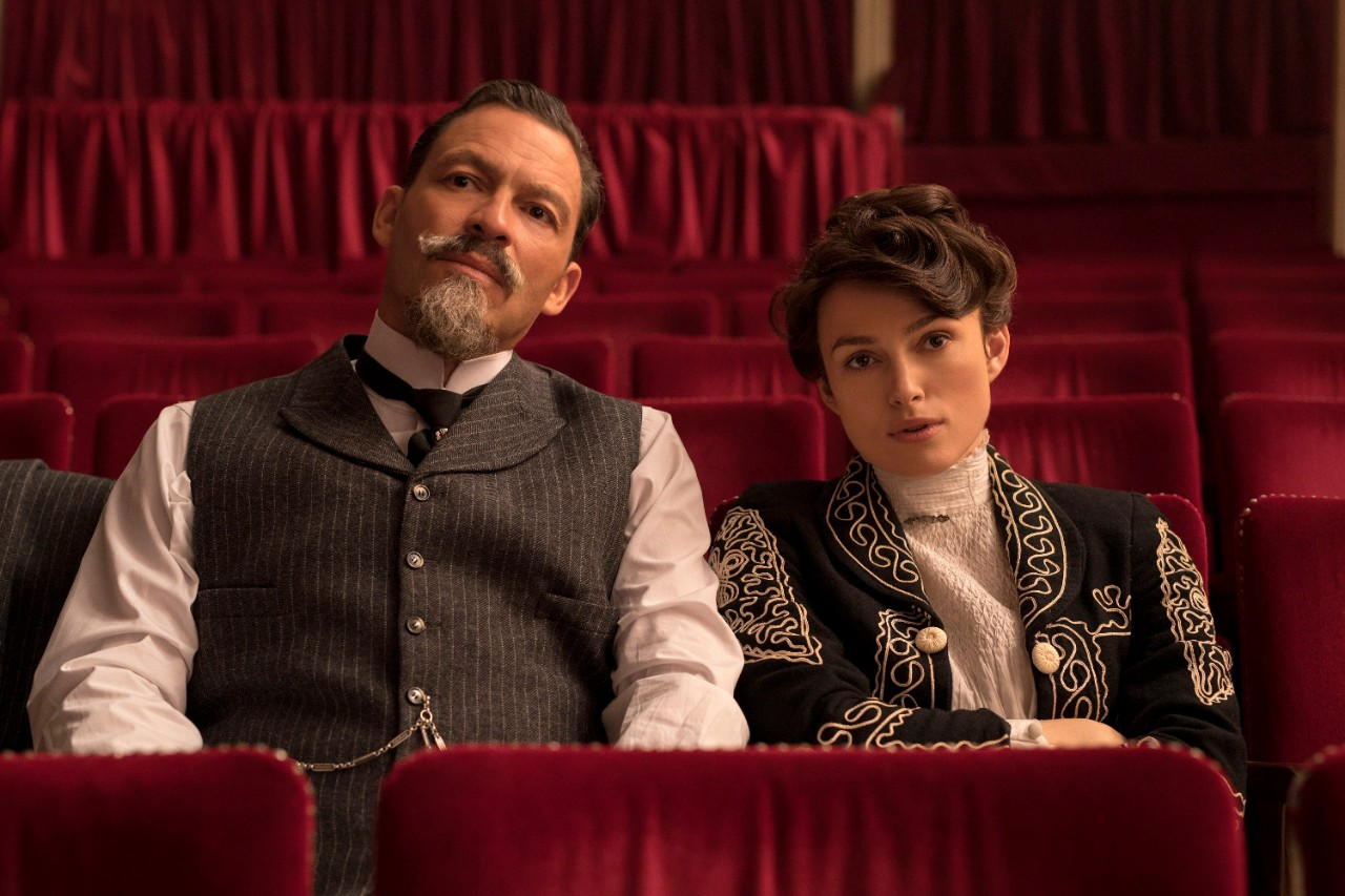 Dominic West and Keira Knightley in 'Colette'