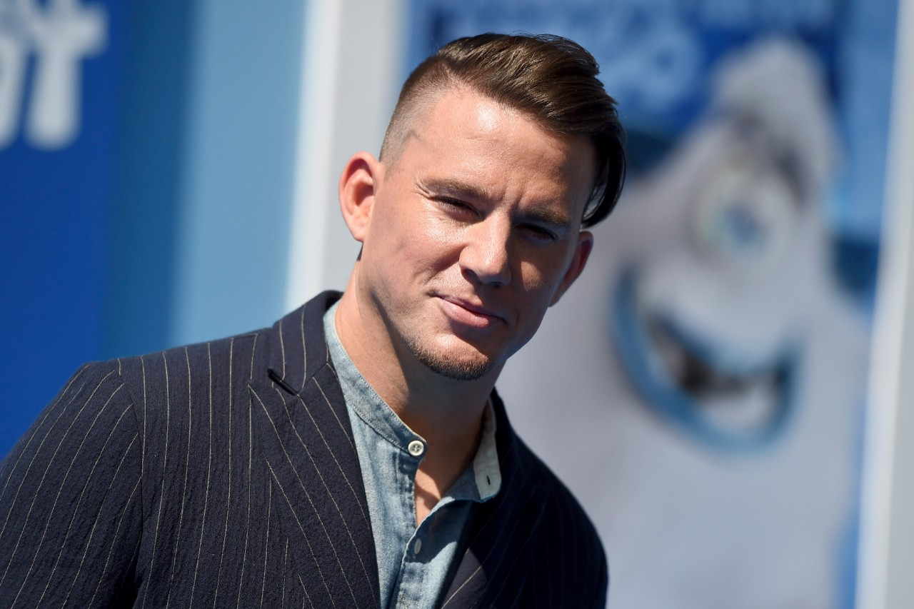 Channing Tatum at the 'Small Foot' premiere