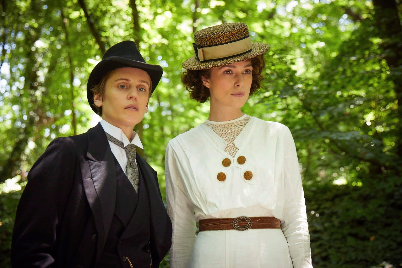 Denise Gough and Keira Knightley in 'Colette'